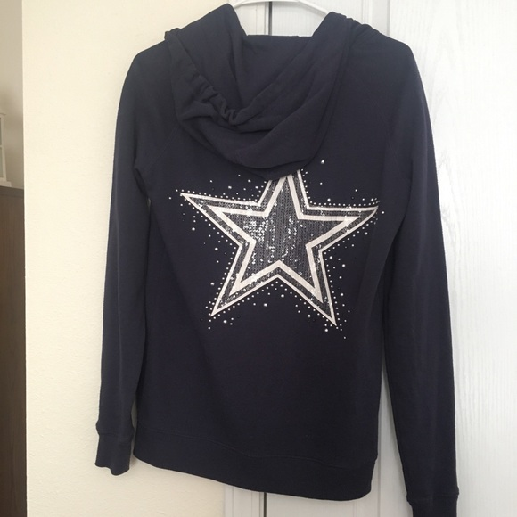online retailer 33d92 db50c Victoria's Secret PINK Dallas Cowboys Zipup Hoodie